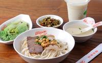 桂林豆浆和桂林米粉是桂林人喜爱的早餐。
