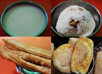 图片:上海人的传统早餐豆浆油条